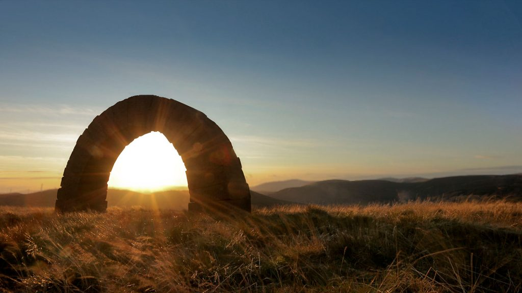 Andy Goldsworthy Striding Arch