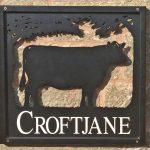 Croftjane self catering sign