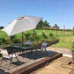 Croftjane self catering cottage garden
